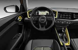 Não existem opções a diesel para o novo Audi A1. Foto: Audi / Divulgação