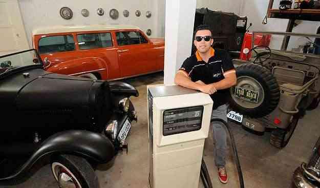 Especialista no mercado dos antigos, Gustavo Brasil afirma que colecionadores seguem tabelas de preço dos EUA - Beto Magalhães/EM/D.A Press
