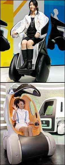 Toyota iReal e Suzuki Pixy - Toru Yamanata/AFP e Kim Kyng-Hoon/Reuters
