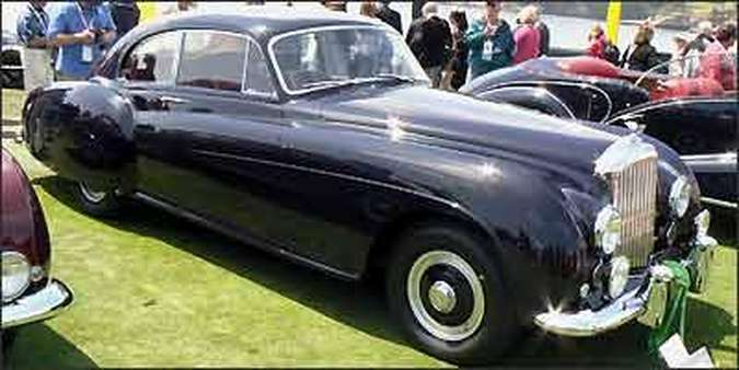 Bentley R-Type 1954(foto: Fotos: Boris Feldman/Esp. EM/ D.A Press)