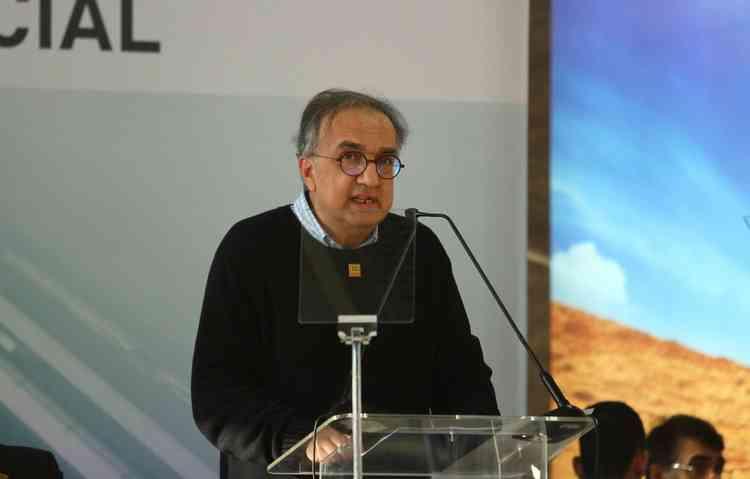 Sergio Marchionne em visita à fábrica da Fiat em março deste ano. Foto: Peu Ricardo/DP - Foto: Peu Ricardo/DP