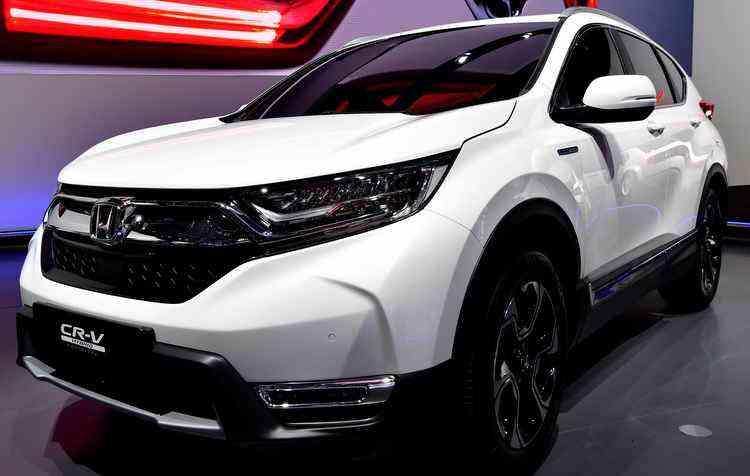 Modelo do protótipo segue o mesmo estilo da familia dos SUV's  - Tobias Schwarz / AFP
