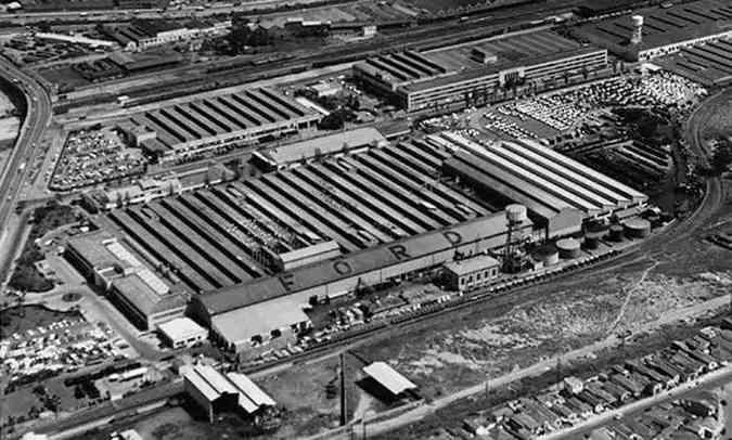Com 2.500 empregados, fábrica de Ipiranga podia produzir até 125 veículos por dia(foto: Ford/Divulgação)
