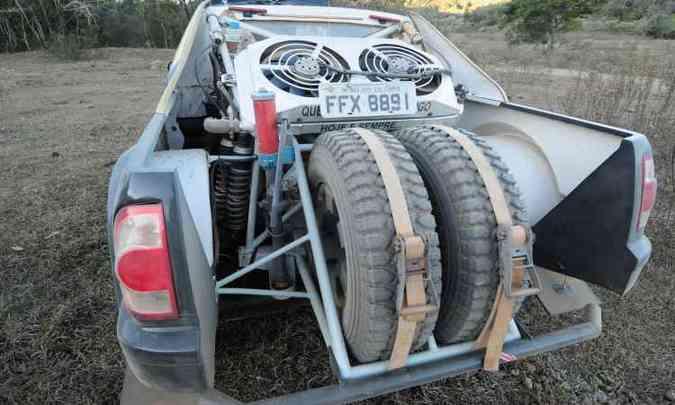 Protótipo Sherpa foi especialmente construído para o rali(foto: Gladyston Rodrigues/EM/D.A Press )