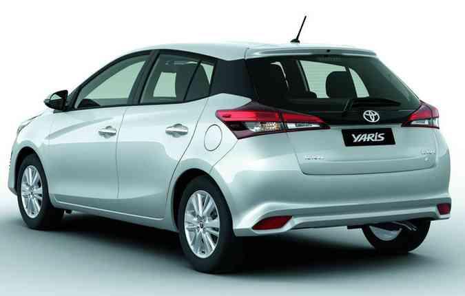 Uma nova versão do hatch, que já é fabricado no México, será produzida no Brasil(foto: Toyota/Divulgação)