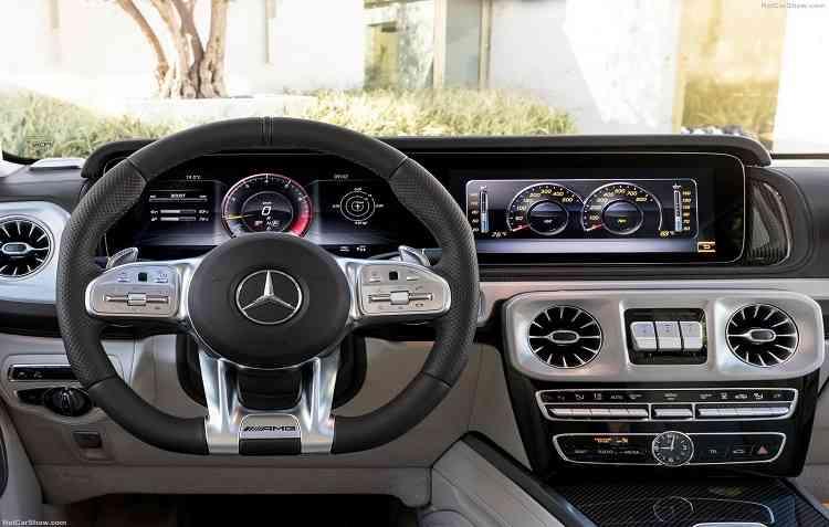 Centrais multimídias levam em consideração, principalmente, o perfil do comprador de determinado modelo. Foto: Mercedes-Benz / Divulgação -