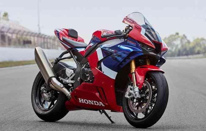 Honda CBR1000RR-R FIREBLADE 2020. Foto: Honda/Divulgação.