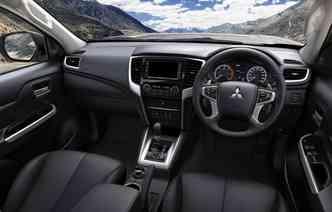 Modelo possui tipos de condução para vários terrenos. Foto: Mitsubishi / Divulgação