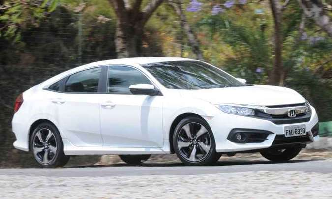 Honda Civic(foto: Jair Amaral/EM/D.A Press - 29/9/16)