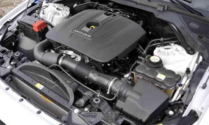 Com respostas rápidas, motor 2.0 turbo apresenta torque elevado desde as rotações mais baixas