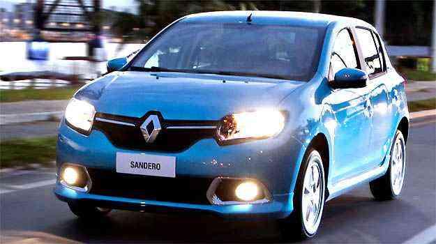 Sandero agora conta com motor 1.0 16V Hi-Power - Renault/divulgaçao