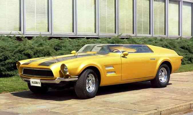 Mustang Allegro II, de 1967(foto: Ford/Divulgação)