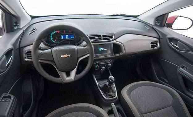 Novidade é o ar-condicionado de série em todas as versões - Chevrolet/divulgação