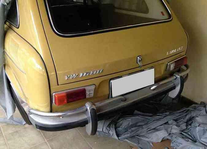 Esta Variant 1972 rodou apenas 7 mil quilômetros!(foto: Júlio Raridades/Divulgação)