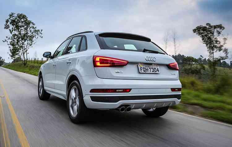 Com novos equipamentos, a Audi modificou também o desenho do SUV. Foto: Audi / Divulgação -