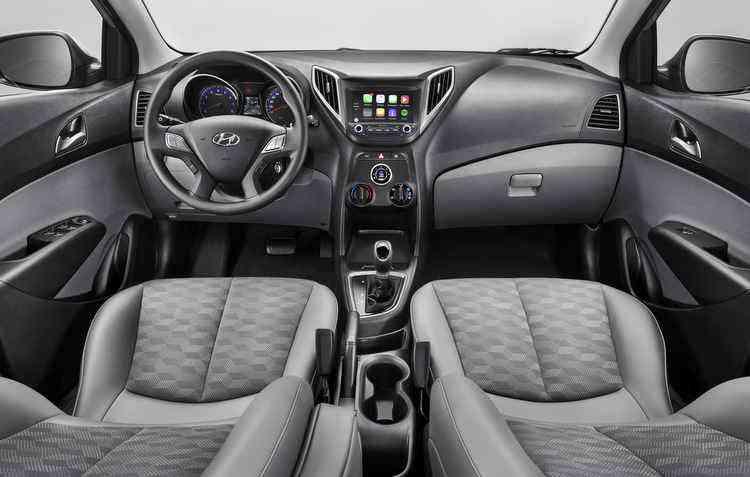 Central multimídia com espelhamento de smartphones vem de série no veículo - Hyundai / Divulgação