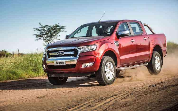 A versão 3.2 Diesel XLT passou a ser mais vendida da Ranger pela primeira vez - Ford/Divulgação