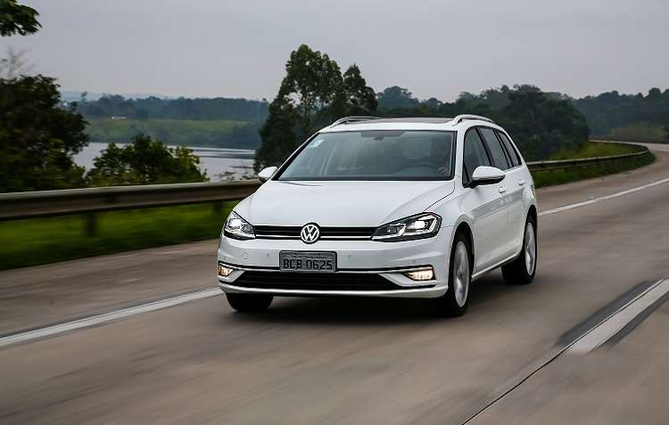 Golf Variante. Foto: Volkswagen / Divulgação -