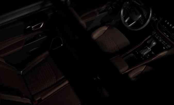 O interior do Jeep Commander parece ser bem espaçoso, pelo menos nas duas primeiras fileiras(foto: Jeep/Divulgação)