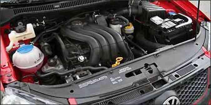 Motor 2.0 flex proporciona bom desempenho ao hatch compacto(foto: Fotos: Marlos Ney Vidal/EM/D.A Press )