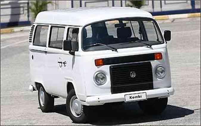 A Kombi é um exemplo de caminhoneta, quando passageiros e carga são carregados juntos(foto: Volkswagen/Divulgação)