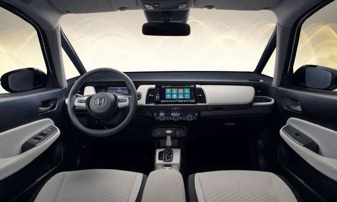 Quarta geração do hatch tem quadro de instrumentos digital(foto: Honda/Divulgação)