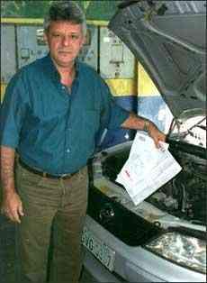 Paulo foi vítima da burocracia e não conseguiu vender seu carro - Marlos Ney Vidal/EM – 17/5/05