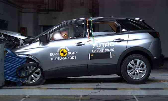 Peugeot 3008(foto: Euro NCAP/Divulgação)