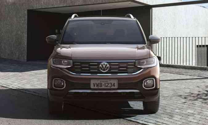 Apesar de compacto, novo utilitário-esportivo tem visual robusto(foto: Volkswagen/Divulgação)