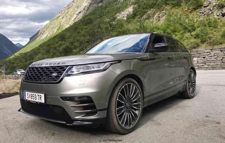 Velar foi eleito o carro mais bonito de 2018 - Jorge Moraes / DP