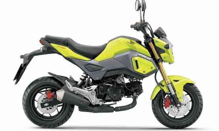 A pequena distância entre-eixos deixa a moto mais esperta - Honda/Divulgação
