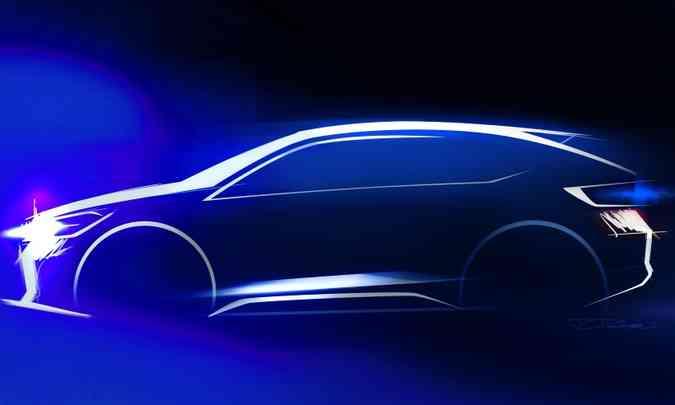 O SUV compacto será montado sobre a plataforma MQB, a mesma do hatch Polo e do sedã Virtus(foto: Volkswagen/Divulgação)