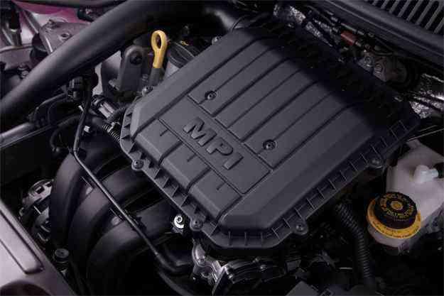 O EA211, desenvolvido e produzido na fábrica da VW em São Carlos, é construído com materiais mais leves, resultando em uma redução de peso de 24 quilos - Ricardio Hirae/Volkswagen/Divulgação