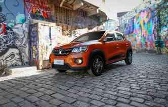 Kwid apareceu no mercado em agosto do ano passado. Foto: Renault / Divulgação
