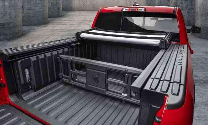 A Mopar disponibiliza mais de 30 acessórios originais para a nova Ram 1500(foto: FCA/Divulgação)