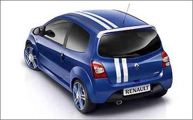 Afora a decoração exclusiva, o primeiro Gordini é um Twingo em versão RS