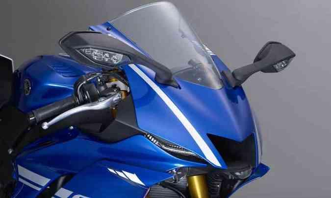 A aerodinâmica foi melhorada com novo para-brisa(foto: Yamaha/Divulgação)
