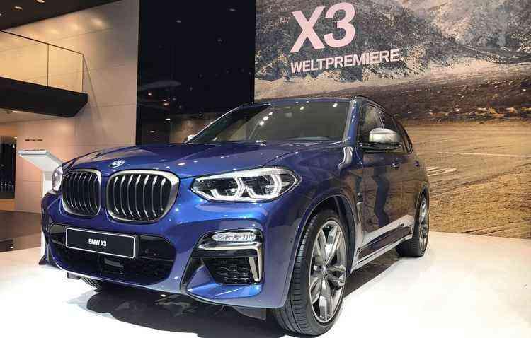 BMW X3 passou por uma renovação - Jorge Moraes/DP