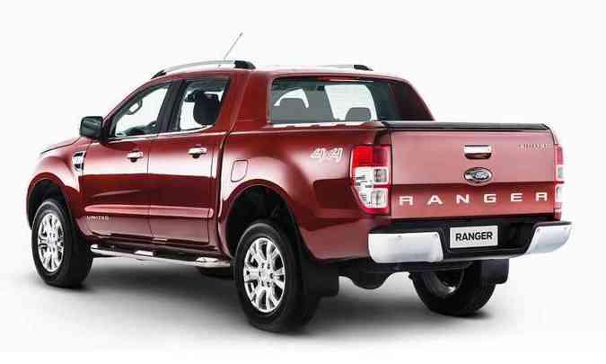 Traseira mantém as mesmas linhas do modelo anterior(foto: Ford/Divulgação)
