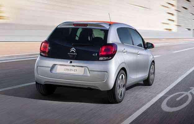 Com apenas 840 kg, o C1 pode ser personalizado com oito cores diferentes - Citroën/divulgação