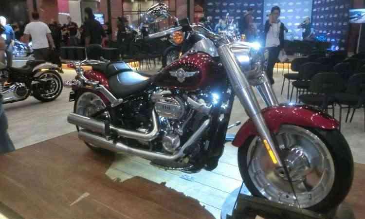 Harley-Davidson Softail Fat Boy - Téo Mascarenhas/EM/D.A Press