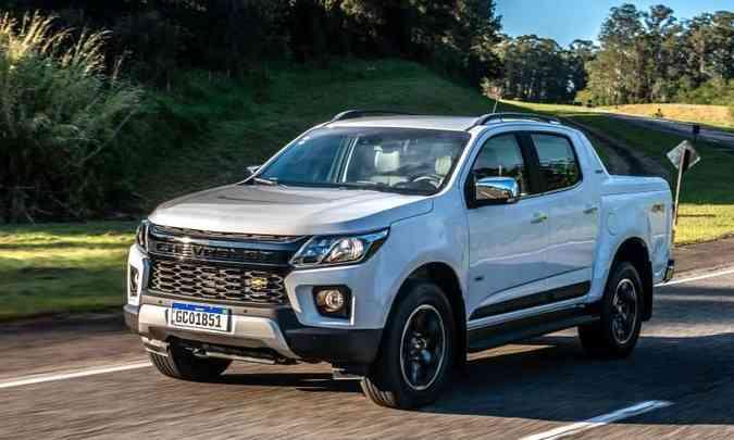 A versão High Country ganha visual externo diferenciado e pacote de itens de série mais completo(foto: Chevrolet/Divulgação)