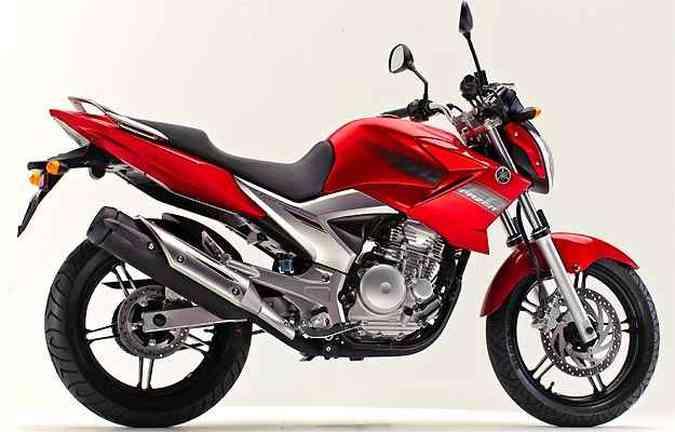 Yamaha Fazer é equipada de fábrica com o pneu Pirelli em recall(foto: Yamaha/Divulgação)