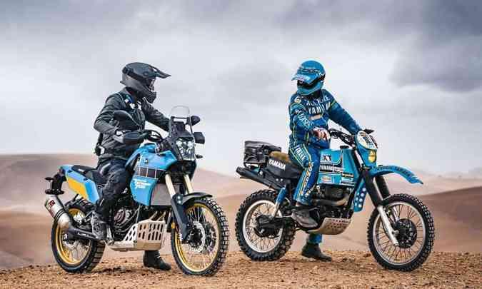 O nome Ténéré batiza a nova 700 Rally, mas já estava presente na linha XT desde 1983(foto: Yamaha/Divulgação)