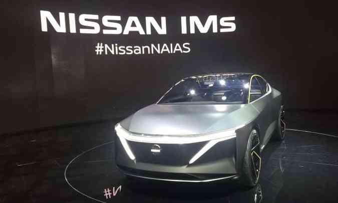 Nissan IMs, sedã de desempenho esportivo(foto: Enio Greco/EM/D.A Press)