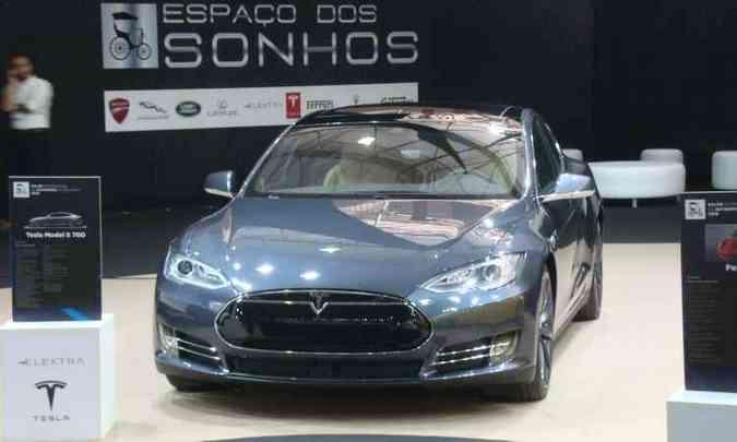 Tesla Model S 70 D(foto: Bruno Freitas/EM/D.A Press)