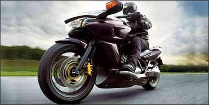 Visual mescla estilos e conceitos entre moto e scooter(foto: Fotos: Honda/Divulgação)