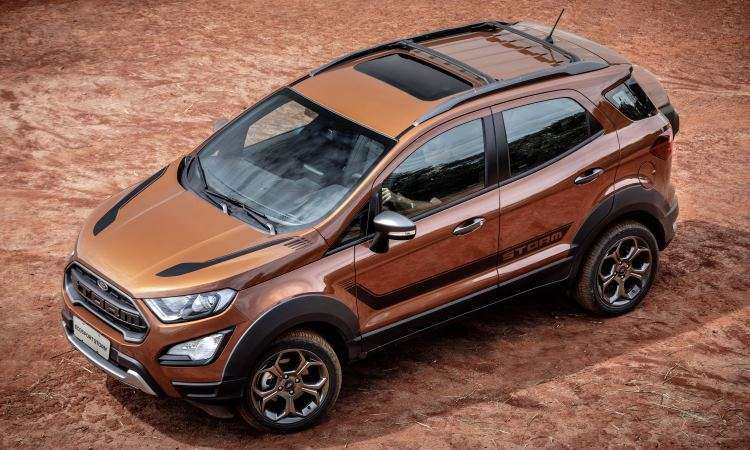 Para encarar pequenas aventuras fora do asfalto, modelo tem tração 4x4 sob demanda - Ford/Divulgação