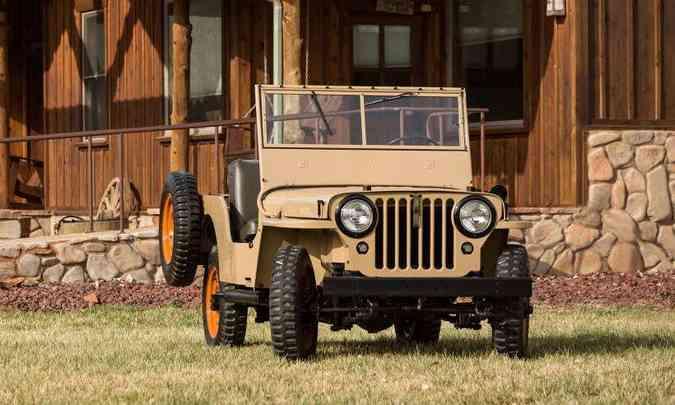 Willys-Overland CJ-2(foto: Jeep/Divulgação)
