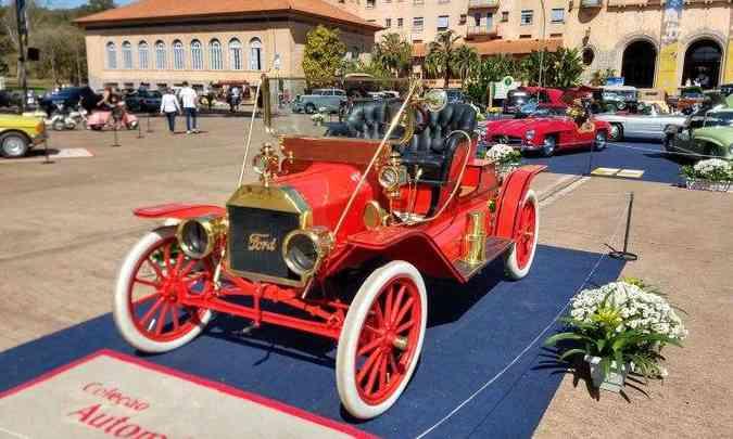 Ford T 1908(foto: Pedro Cerqueira/EM/D.A Press)